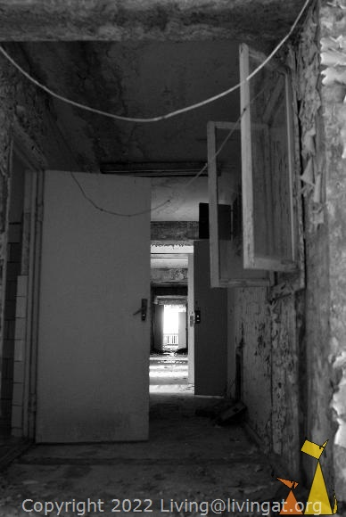 A light at the end, Pripyat, Ukraine, corridor, abandon, light at the end