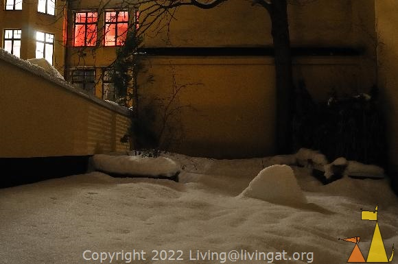 Brothel, Skeppargatan, Stockholm, Sweden, skeppargatan 11, red light, dark, snow