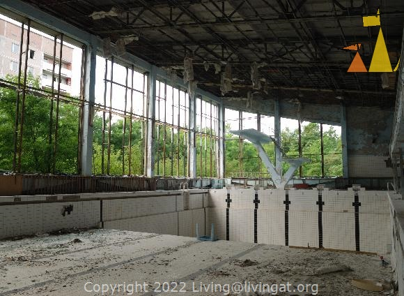 Indoor swimming, Pripyat, Ukraine, swimming pool, bath house