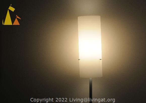 Light in the Dark, Franfurt, Germany, dark, wall, white, lamp