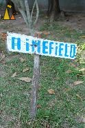 Minefield, War museum, Siem Reap, Cambodia, sign, mainefield, warning, homemade