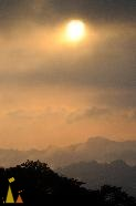Morning light, Canopy Tower, Panama, rain forest, sunrise, morning light