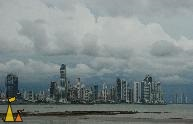 Panama City Skyline, Panama City, Panama, skyline, city, lowtide, sea, skyscraper