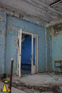 Reactor room?, Pripyat, Ukraine, blue light, reactor room