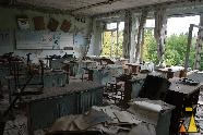 Schools out, Pripyat, Ukraine, recess, school, abandon