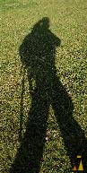 Self portrait, Angarn, Sweden, self portrait, shadow