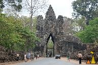 South Gate, Angkor Thom, Cambodia, South Gate, Angkor Thom, Cambodia