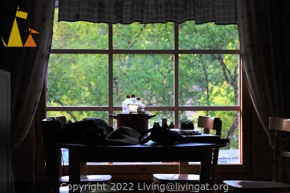 Table, Utsjoki, Finland, arty, still life, window, table, silhouette