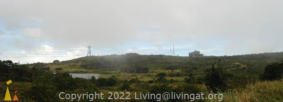 Town of Boko, Bokor Hill Station, Kampot, Cambodia, ruin, casino, fog, water tower